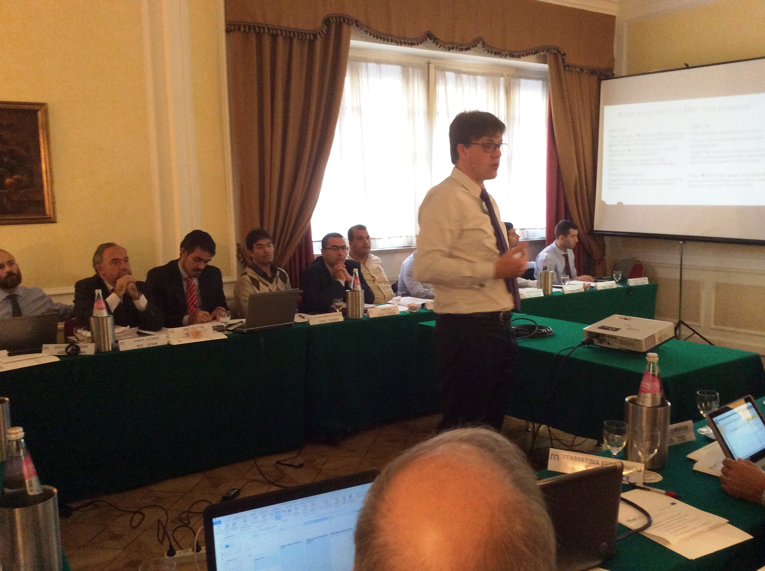 TC2-TC3 Joint Workshop - Rome, November 4th 2015 - R.Ducreux (RTE) speaking