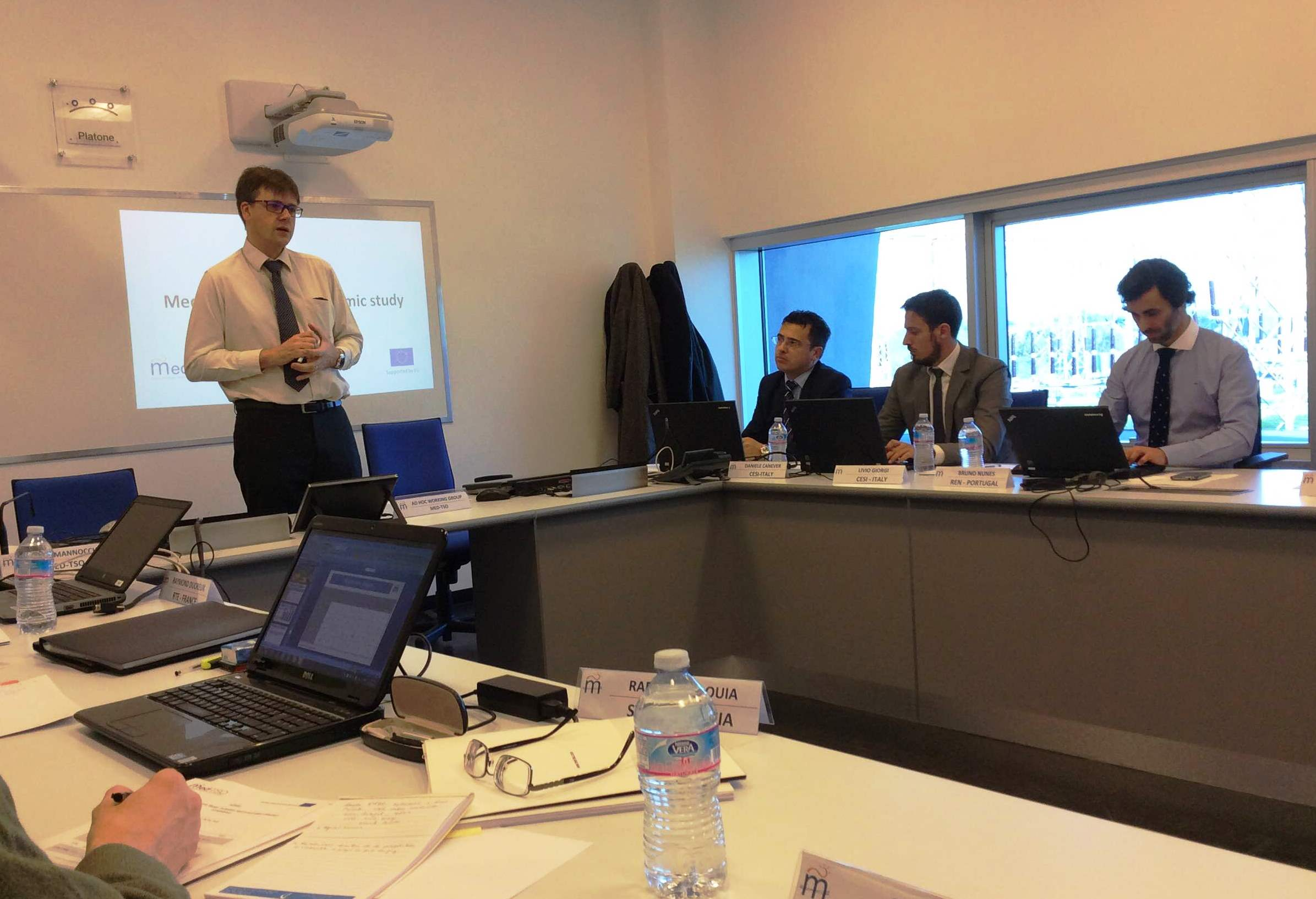 Ad Hoc Working Group meeting in Rome,November, 30th, 2015