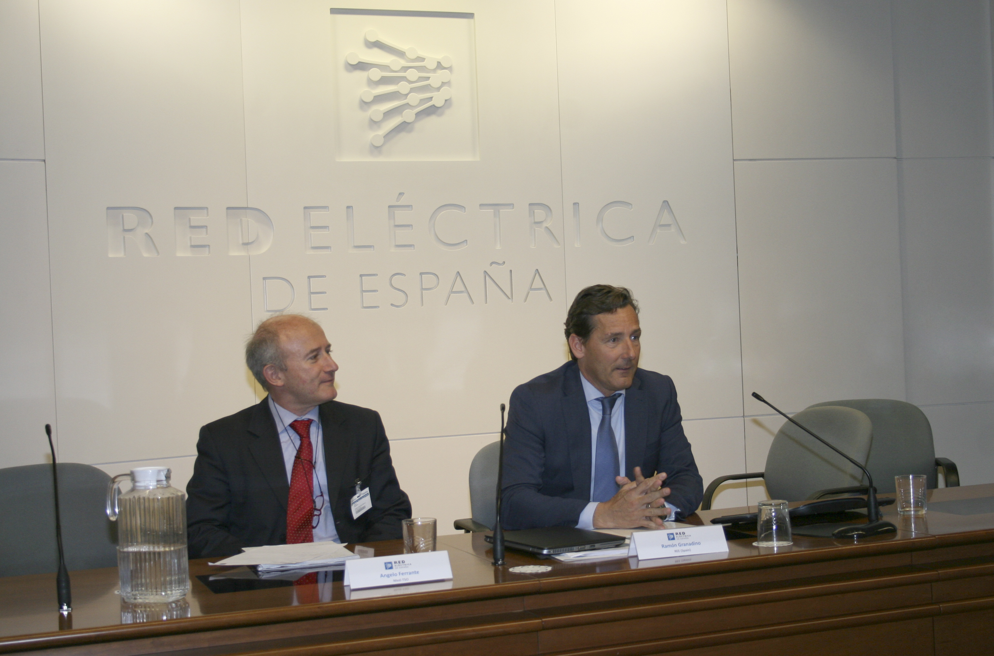 Conclusion speechs: Angelo Ferrante (Med-TSO) and Ramón Granadino (REE)