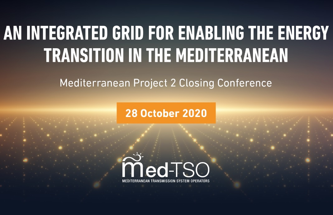 SAVE THE DATE - 28 October 2020 Mediterranean Project 2  Closing Conference