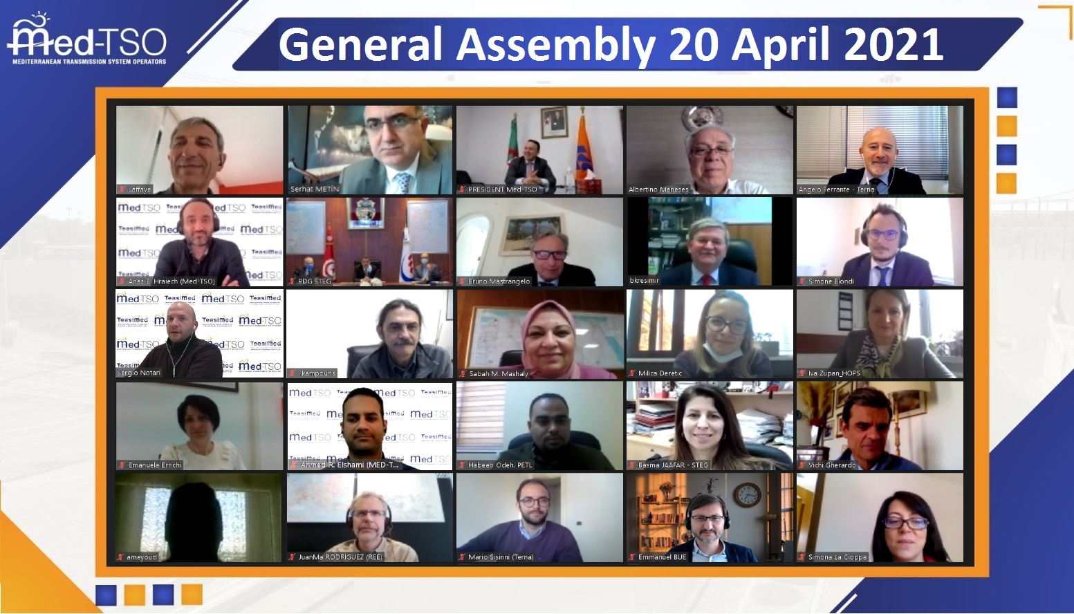 22nd General Assembly of Med-TSO
