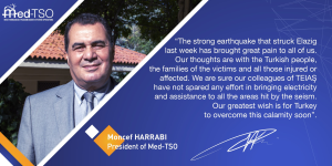 Message of the President after the Earthquake in Turkey