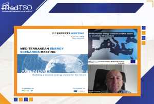 Med-TSO participated in OME's conference Mediterranean Energy Scenarios - Building a shared energy vision