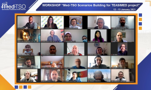 Med-TSO held a Workshop on Scenarios Building for TEASIMED project